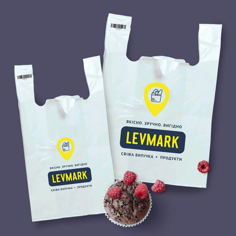 """Поліетиленові пакети """"LEVMARK"""""""