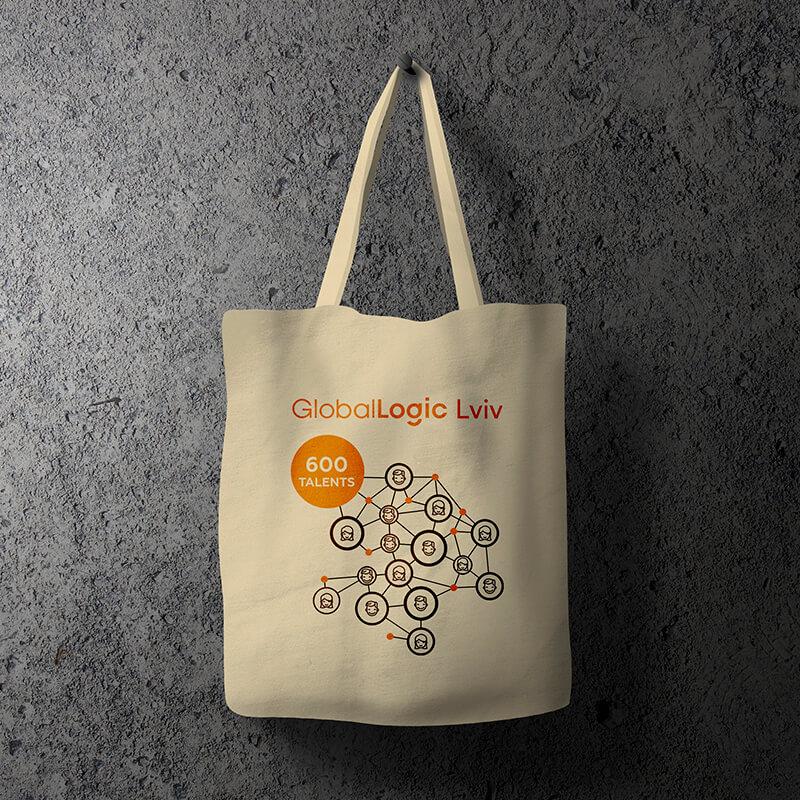 """Еко-сумка """"GlobalLogic"""""""