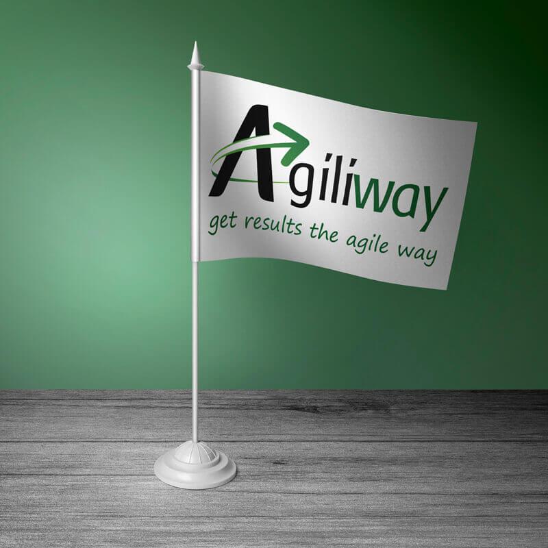 """Прапорець """"Agiliway"""""""