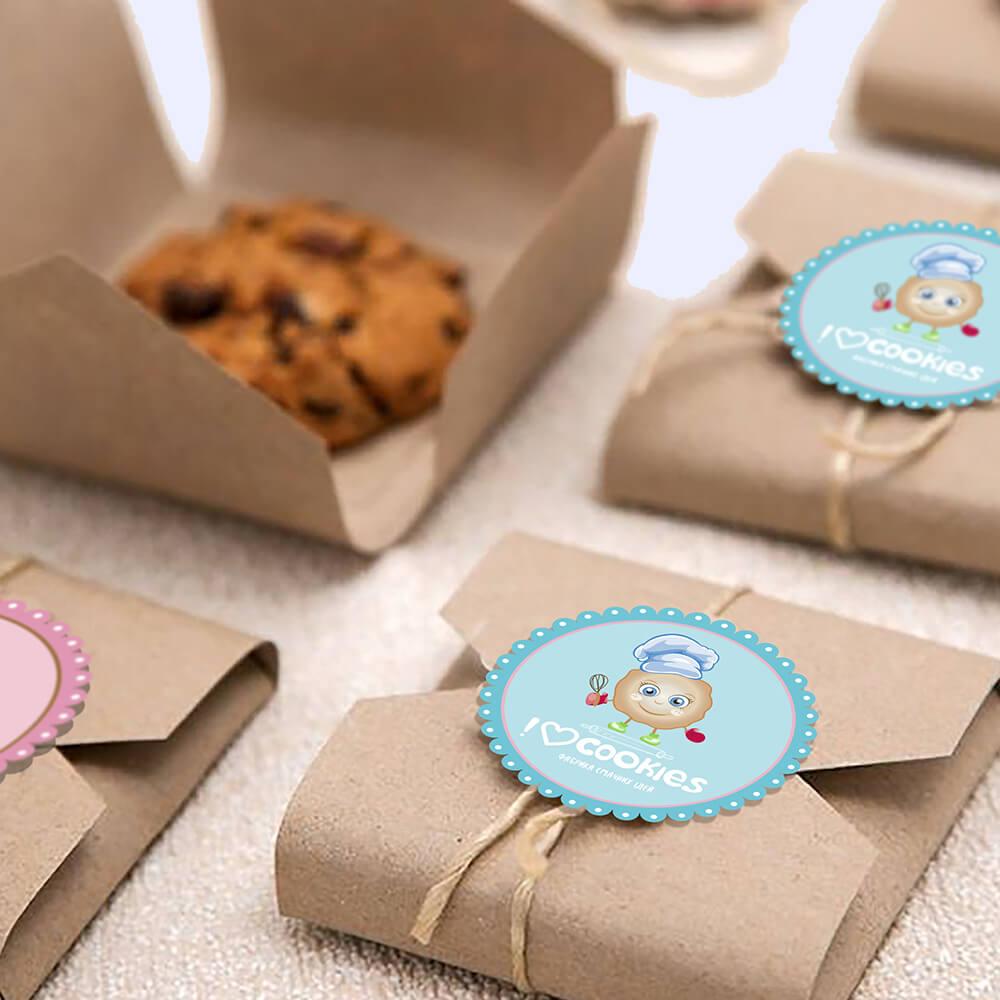 Крафтова упаковка для печива