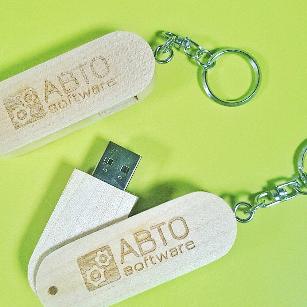 "Флешки з логотипом компанії ""ABTO Software"""