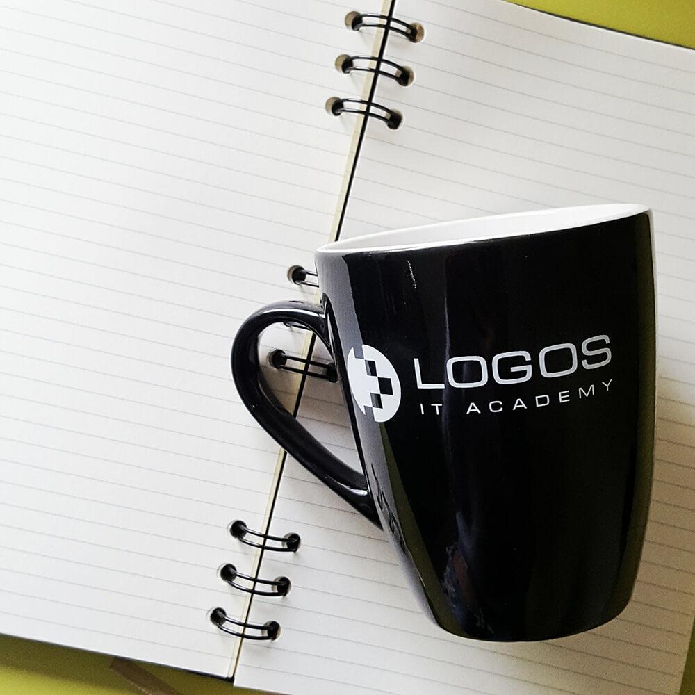 Чашка з нанесенням логотипу компанії