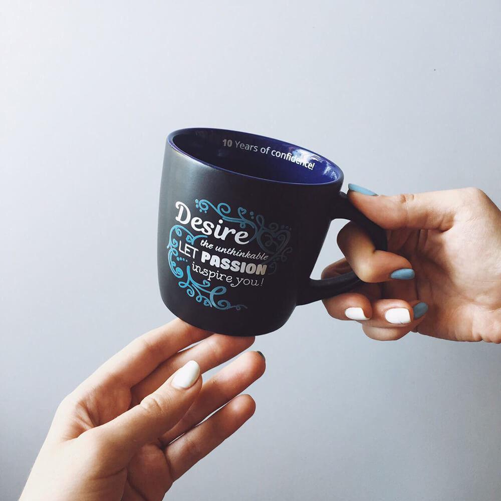Матові чашки для SoftServe