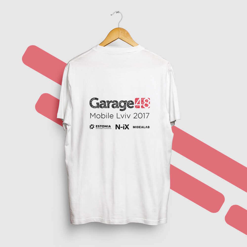 """Футболки для конференції """"Garage48"""""""