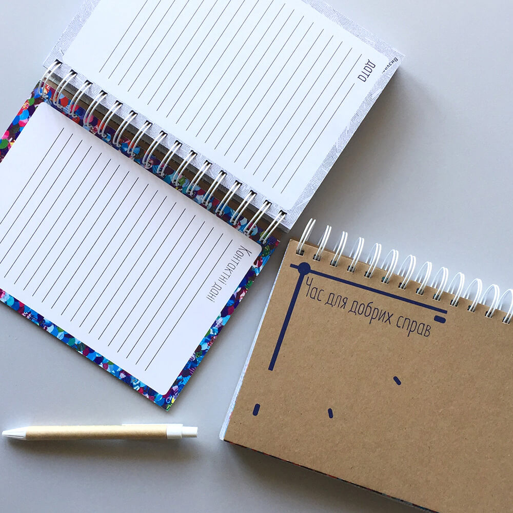 Еко блокноти і ручки