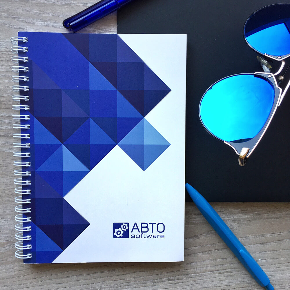 "Блокноти для компанії ""ABTO Software"""