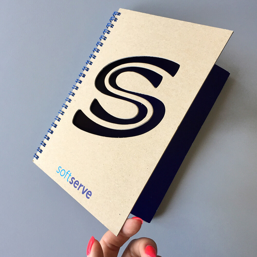 """ЕСО блокноти для компанії """"SoftServe"""""""