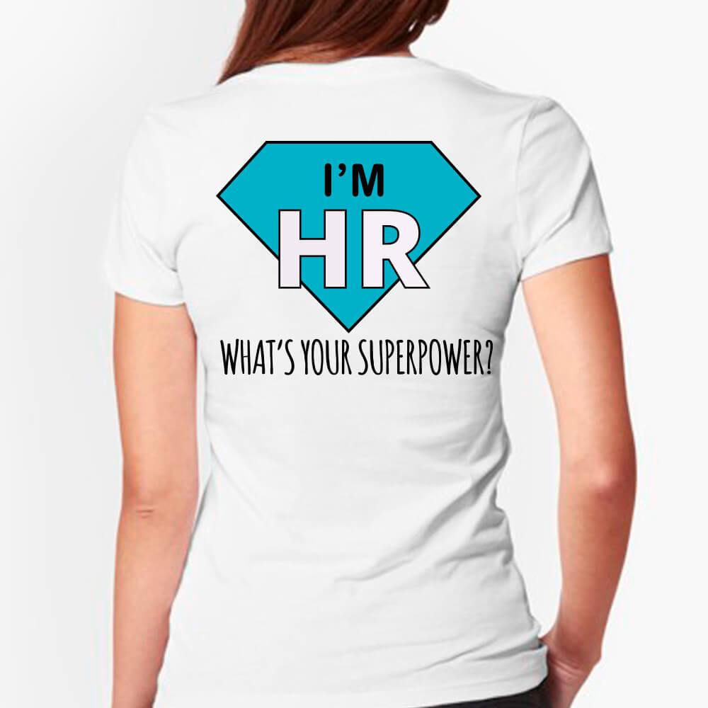 """Футболки """"I'M HR"""" для компанії """"SoftServe"""""""