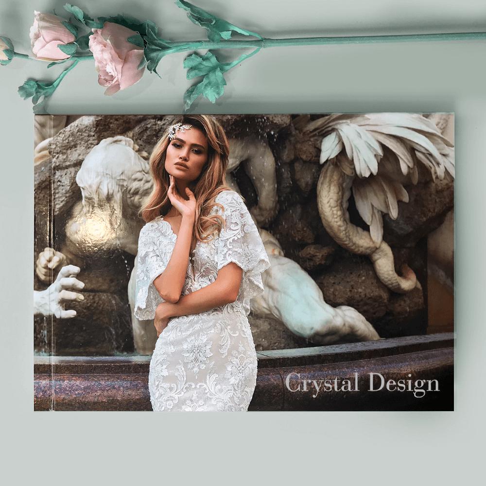 Каталог для весільного салону CRYSTAL