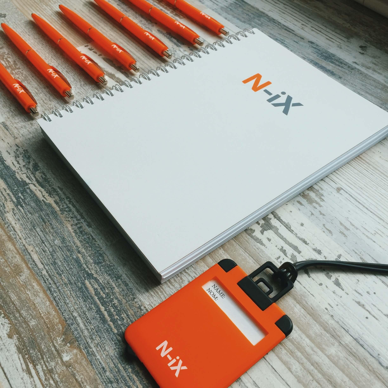 """Блокноти для компанії """"N-iX"""""""