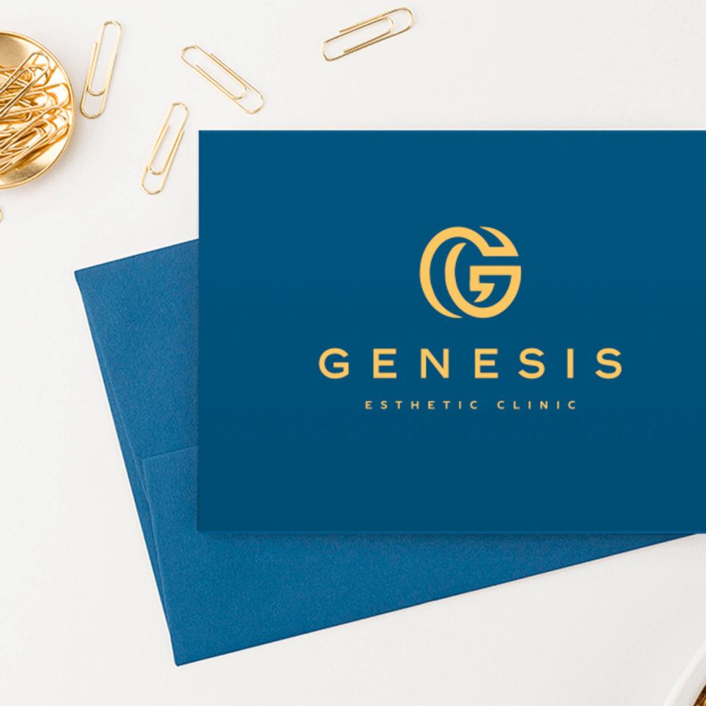 Дизайнерські конверти для естетік-центр «GENESIS»