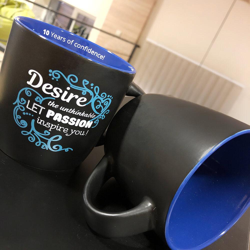 """Стильні матові чашки для компанії """"SoftServe"""""""