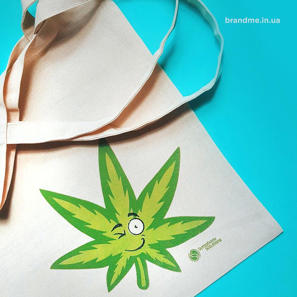 Друк на еко-сумках для компанії «Symphony Solution»