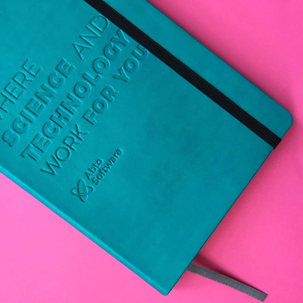 """Друк щоденників з індивідуальним дизайном для компанії """"ABTO software"""""""