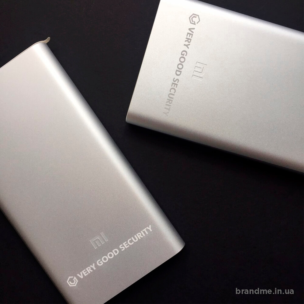 "Power bank XIAOMI з логотипом ""VERY GOOD SECURITY"""
