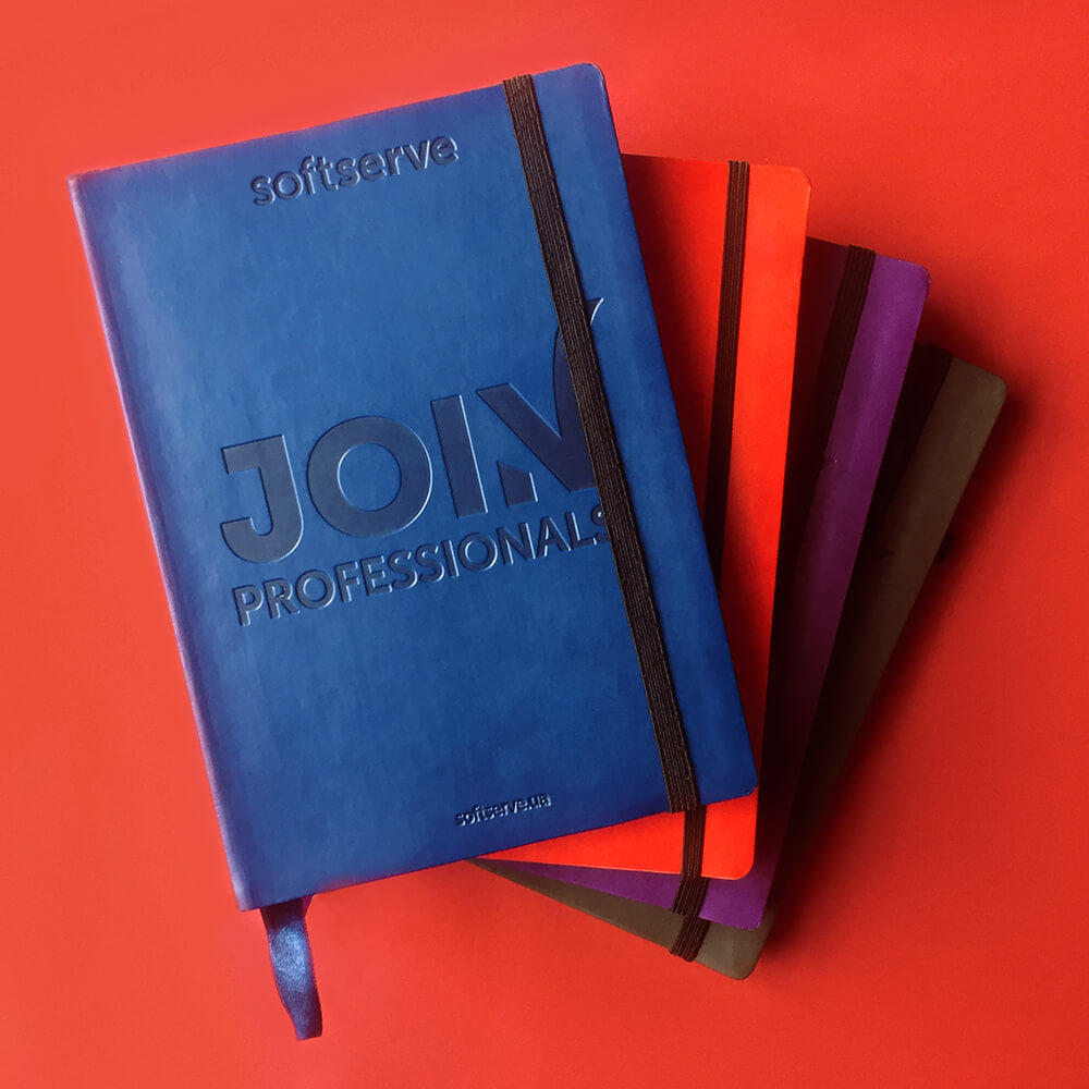 Щоденники для компанії SoftServe