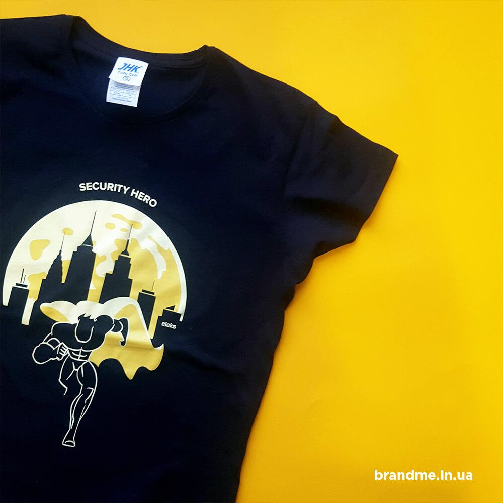 """Печать на футболках для компании """"ELEKS"""""""
