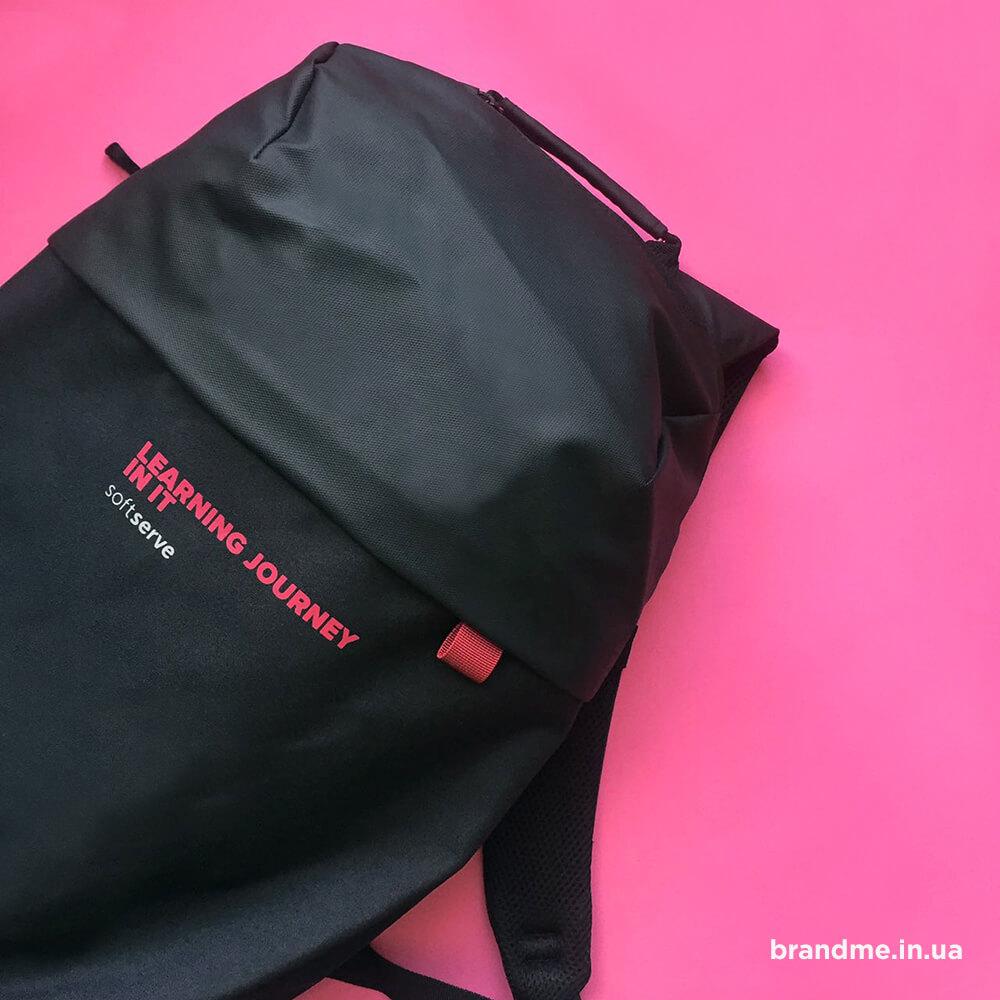 """Красиві брендовані рюкзаки для компанії """"SoftServe"""""""