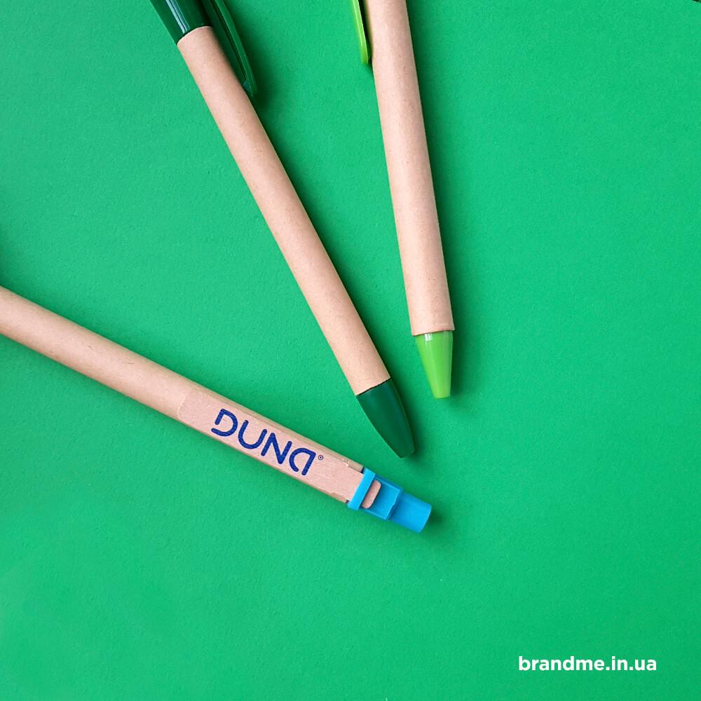 """Еко-ручки для компанії """"DUNA"""""""