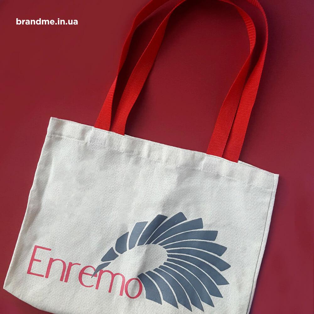 """Эко-сумки для компании """"Enremo"""""""