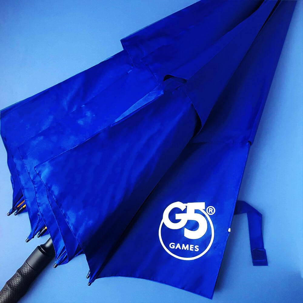 """Корпоративні парасолі для компанії """"G5 Games"""""""