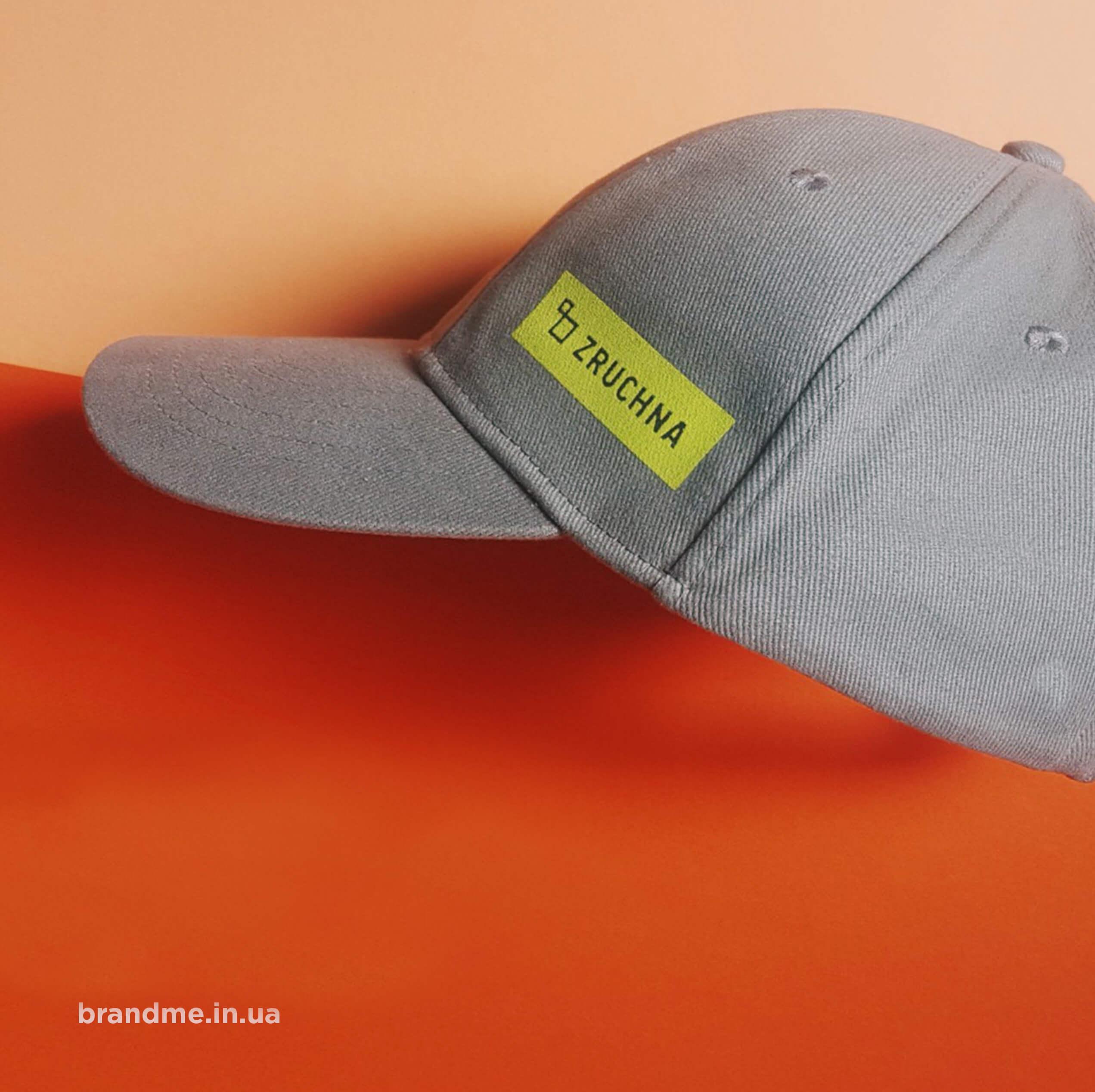 """Стильные кепки для компании """"ZRUCHNA"""""""