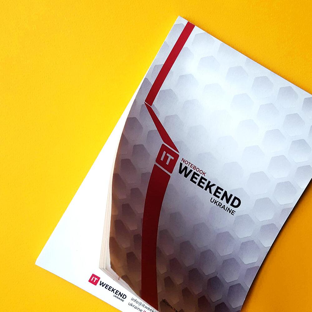 """Блокнот для конференції """"IT Weekend"""""""