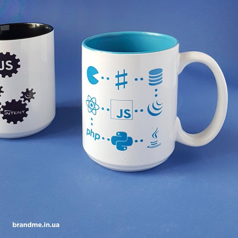 Стильні корпоративні чашки