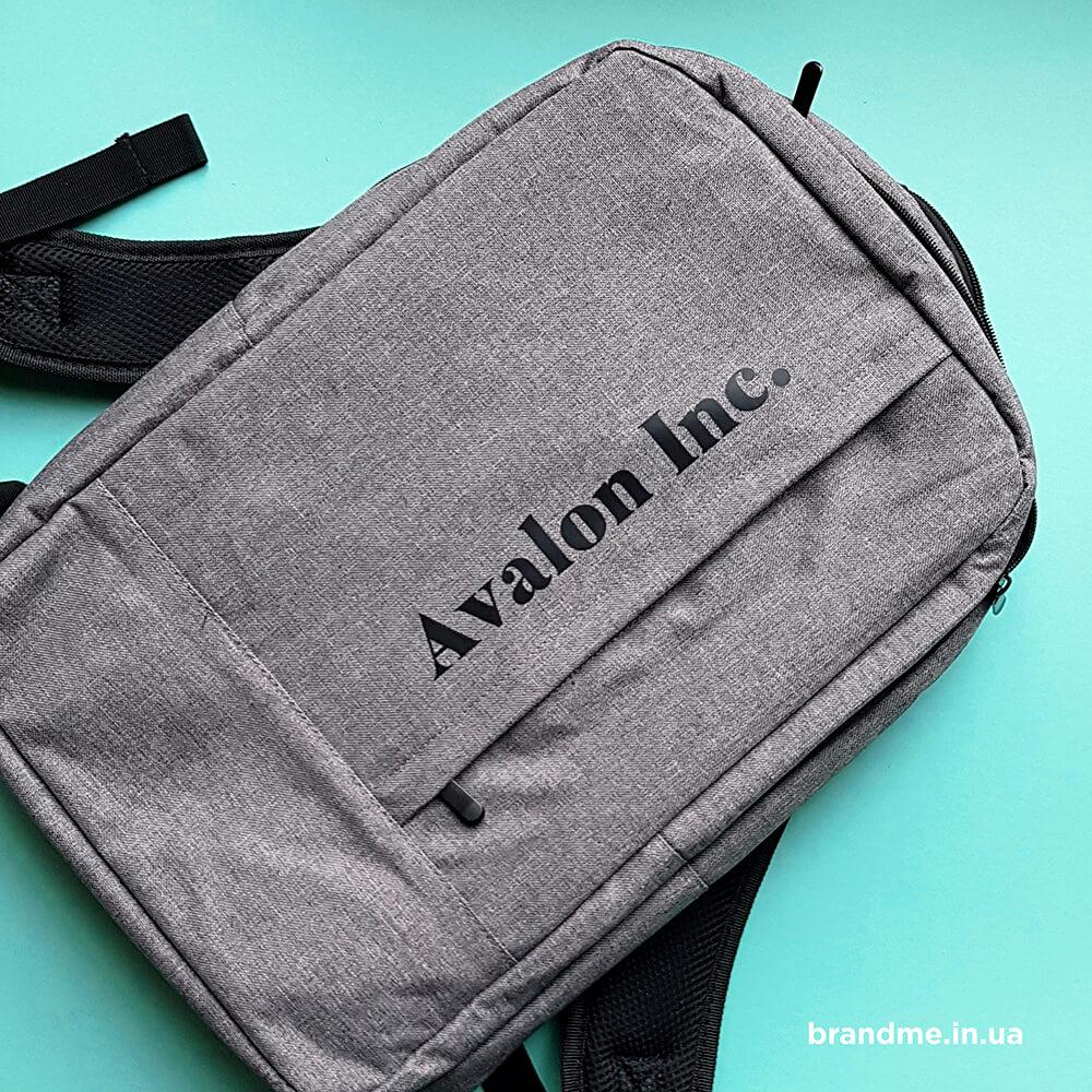 """Стильні рюкзаки для """"Avalon.Inc"""""""