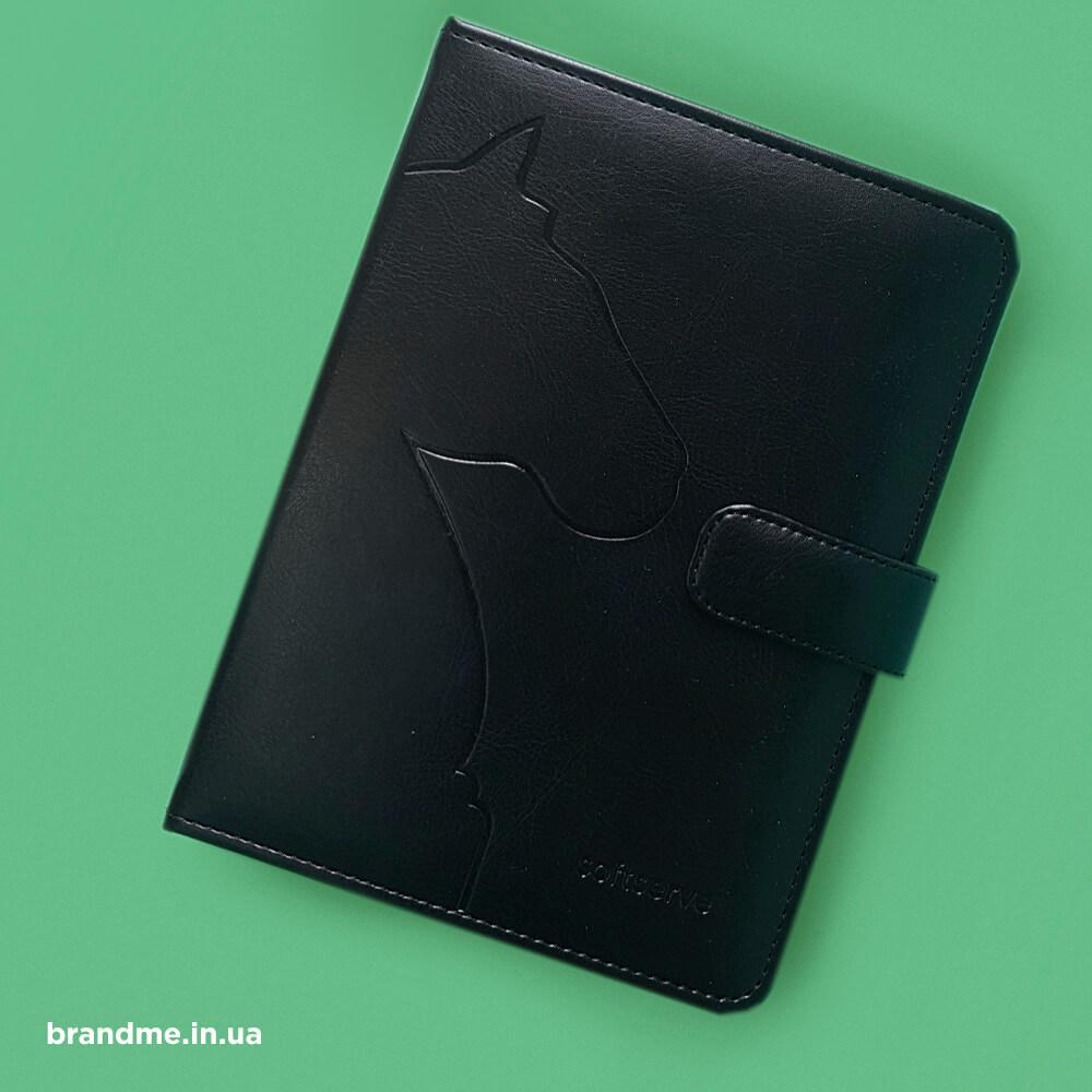 """Щоденник з тисненням для """"SoftServe"""""""