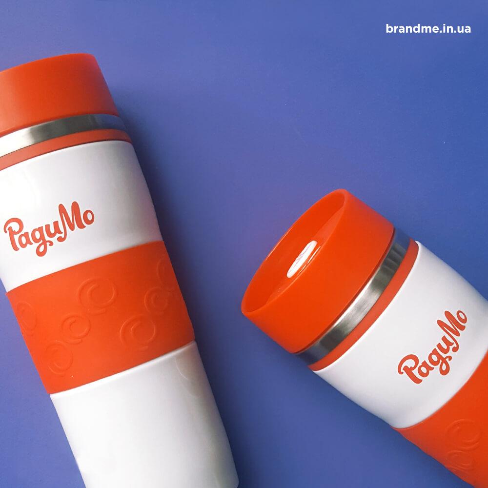 """Термочашки с логотипом на заказ компании """"РадиМо"""""""