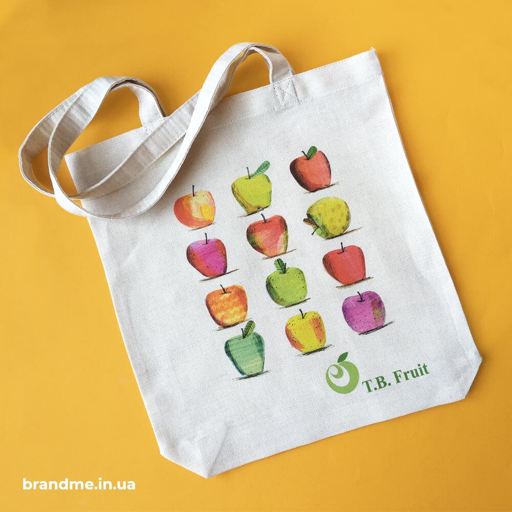 """Еко-сумки з нанесенням для компанії """"T.B.Fruit"""""""