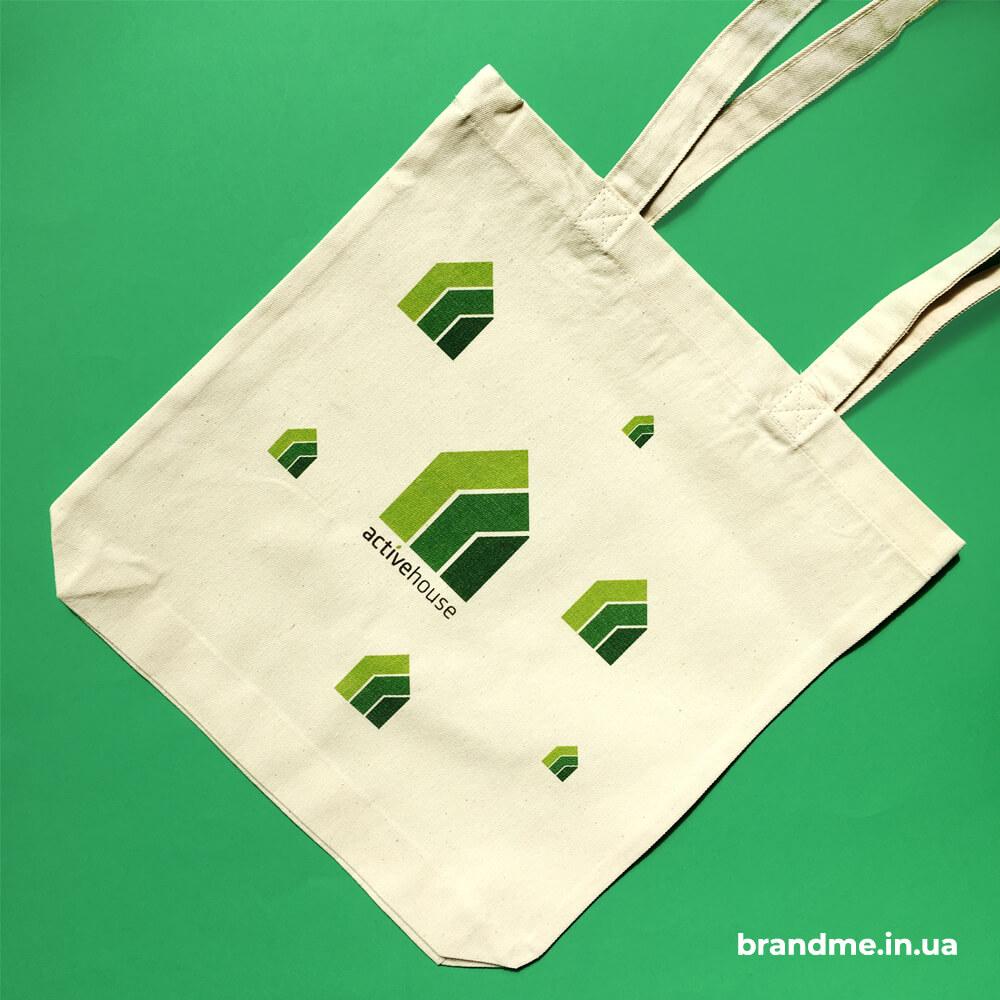 """Еко-торби з логотипом для компанії """"Activehouseitalia"""""""