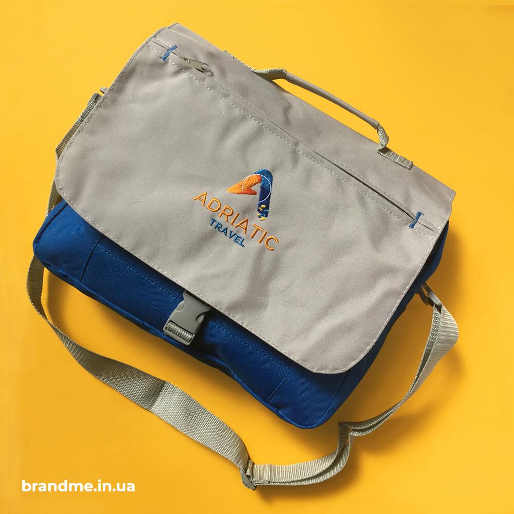 """Сумки з вишивкою логотипа для """"Adriatic Travel Touroperator"""""""