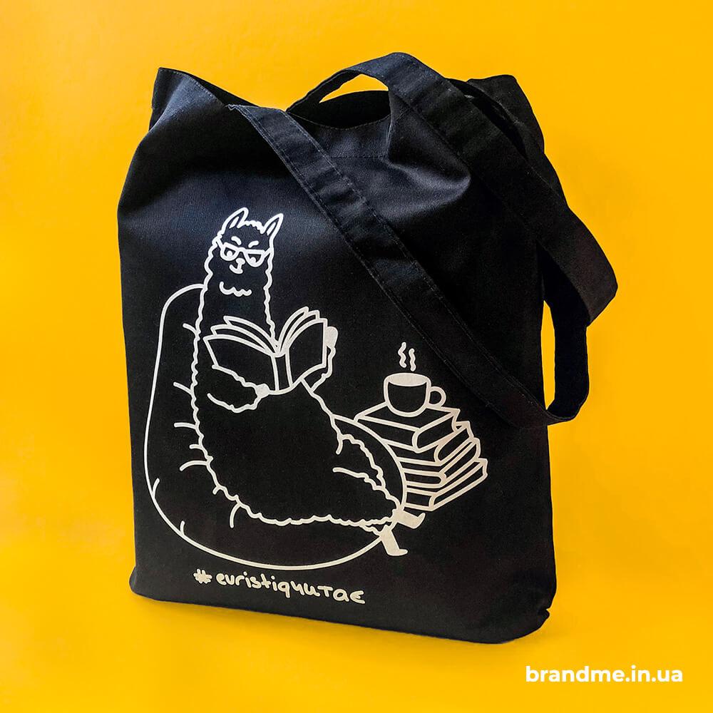 """Еко-сумки з оригінальним дизайном для компанії """"Еuristiq"""""""