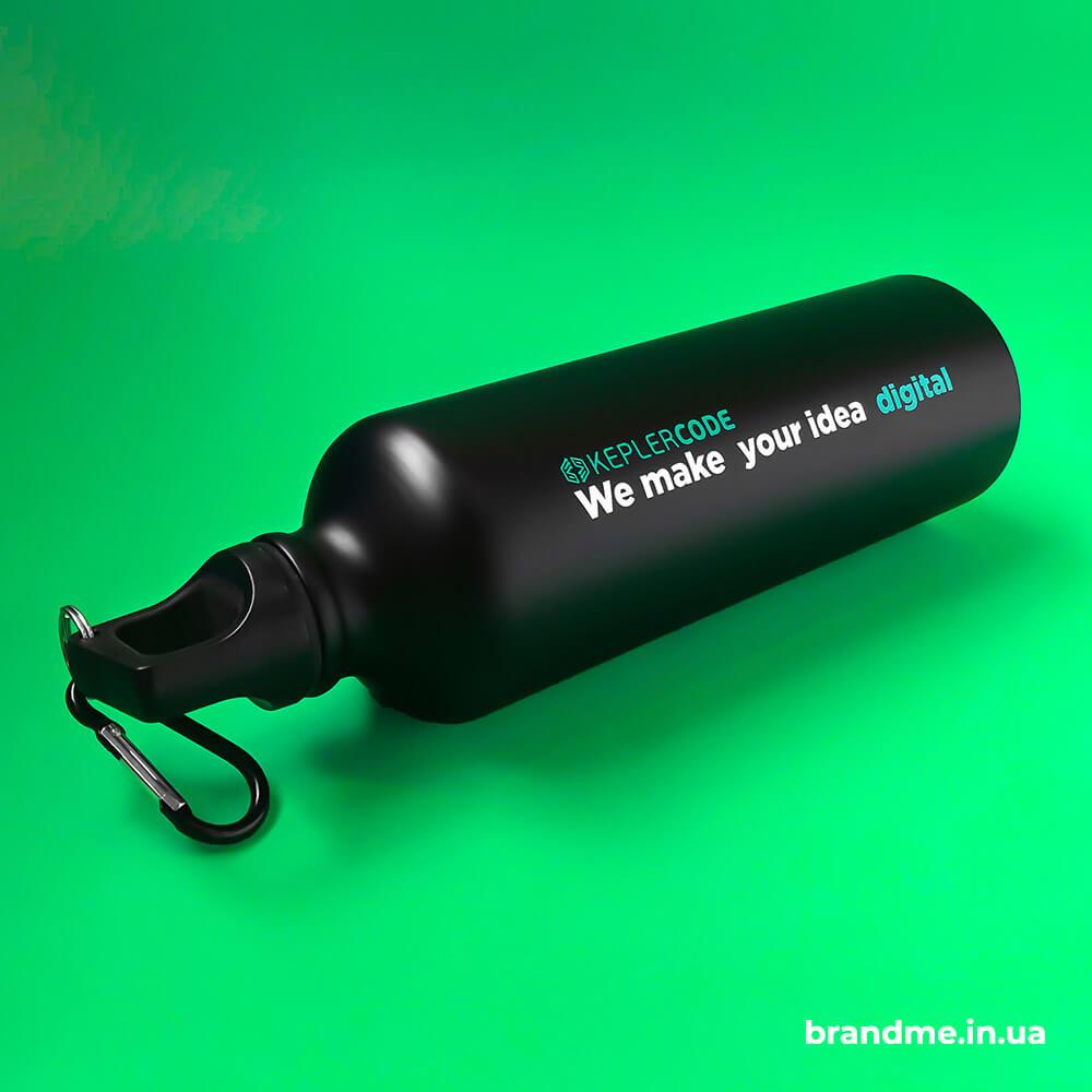 """Металлические бутылки с нанесением для компании """"Keplercode Software"""""""