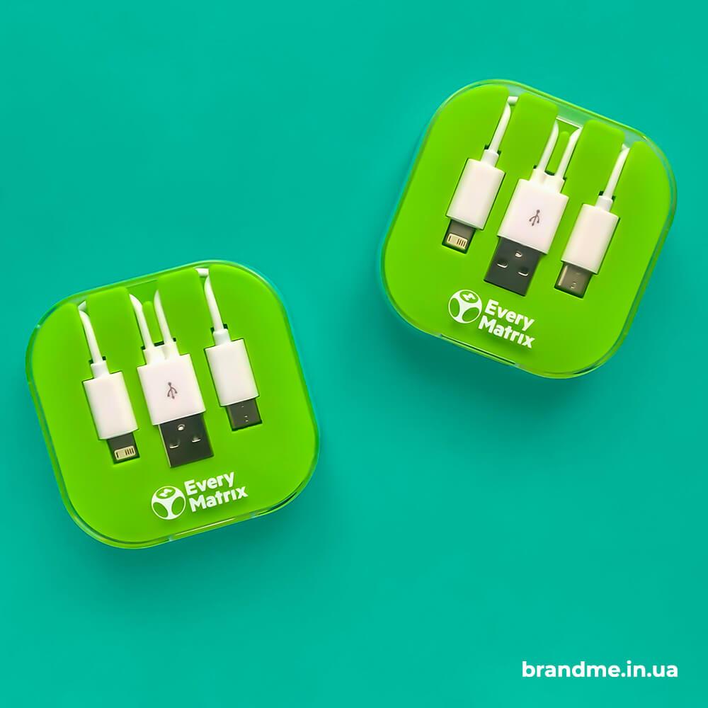 """Брендовані USB-перехідники для компанії """"EveryMatrix"""""""