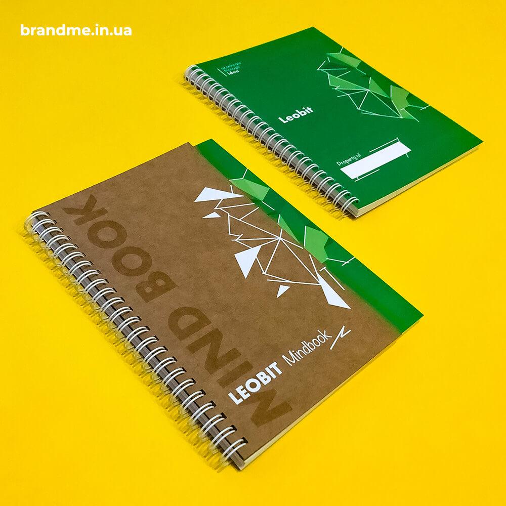 """Красивий та функціональний блокнот з еко-обкладинкою для """"Leobit"""""""
