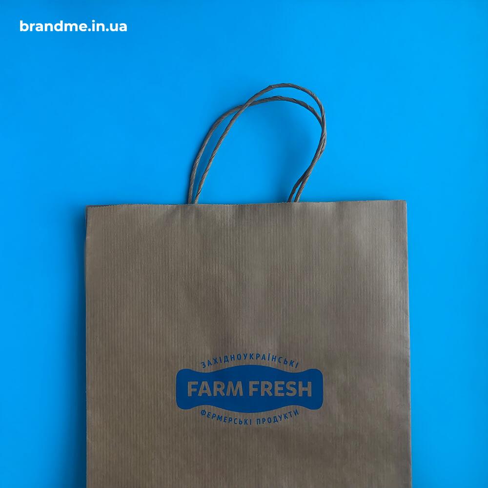 Пакети з бурого крафту для ТМ FARM FRESH