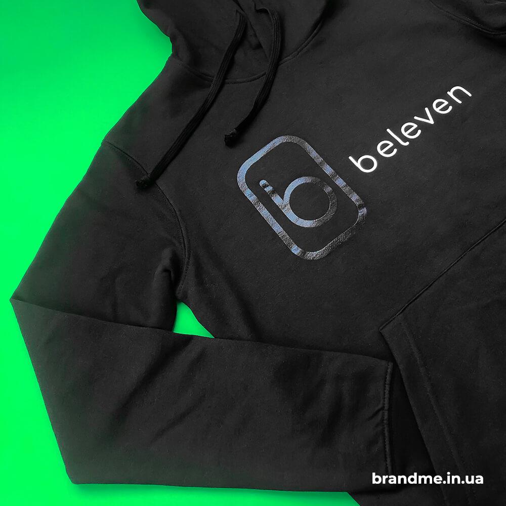 Брендированные худи для компании «Beleven»