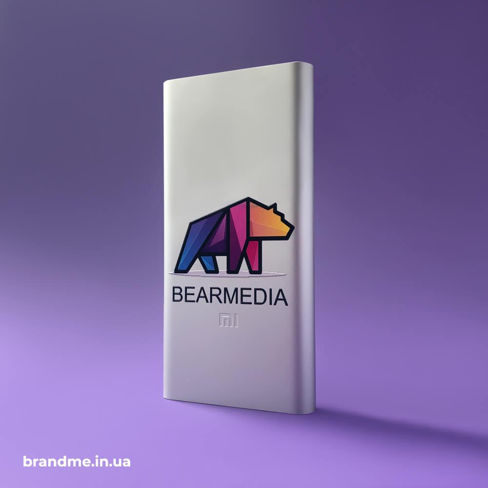 Ультрафиолетовая печать градиента на павербанках Xiaomi