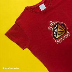 Яскравий друк на футболках у Львові, для компанії Lviv RUG