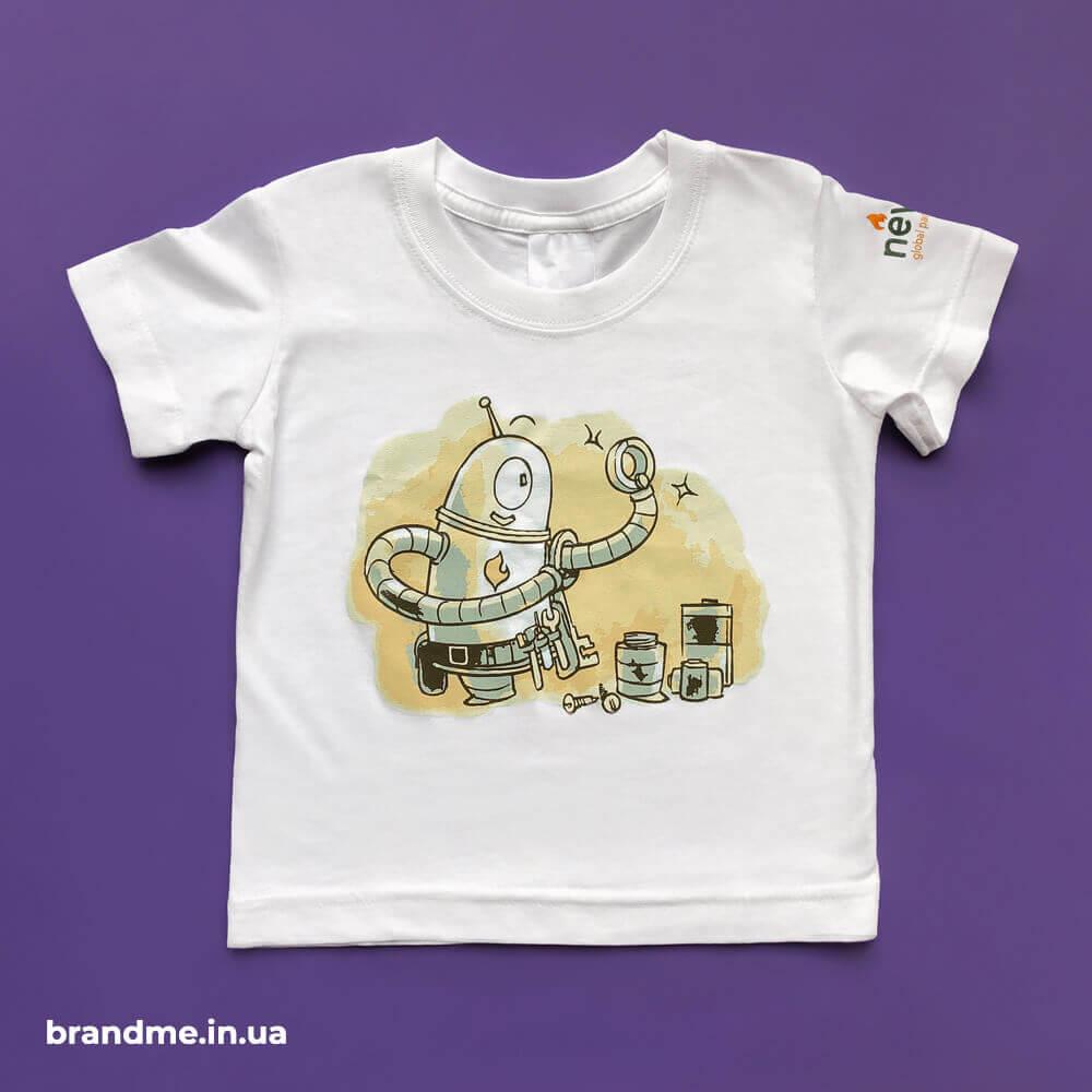 Друк зображення на дитячих футболках для