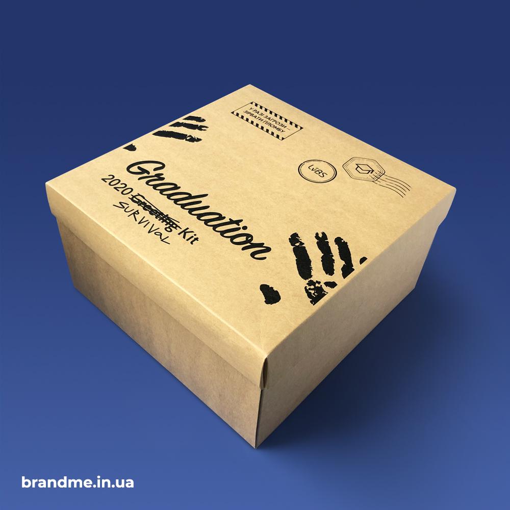 Виготовлення упаковки з друком для LvBS