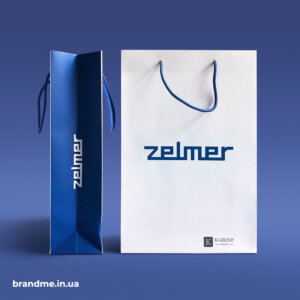 Паперові пакети з друком логотипу для