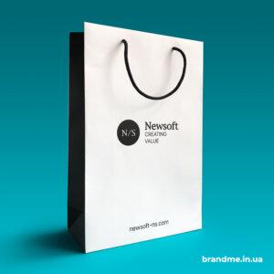 Пакети з логотипом для компанії