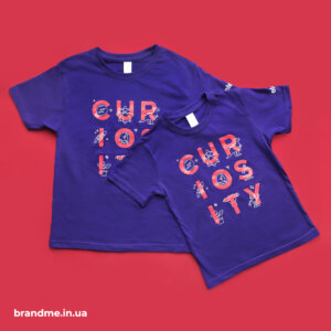 Детские футболки с принтами для ІТ-компании