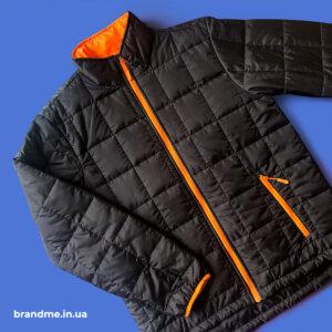 Теплая куртка под нанесение логотипа