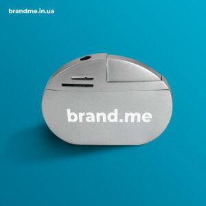 Металлическая пьезо зажигалка под нанесение логотипа