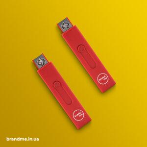 USB-запальничка з міцним та легким корпусом з ABS пластику